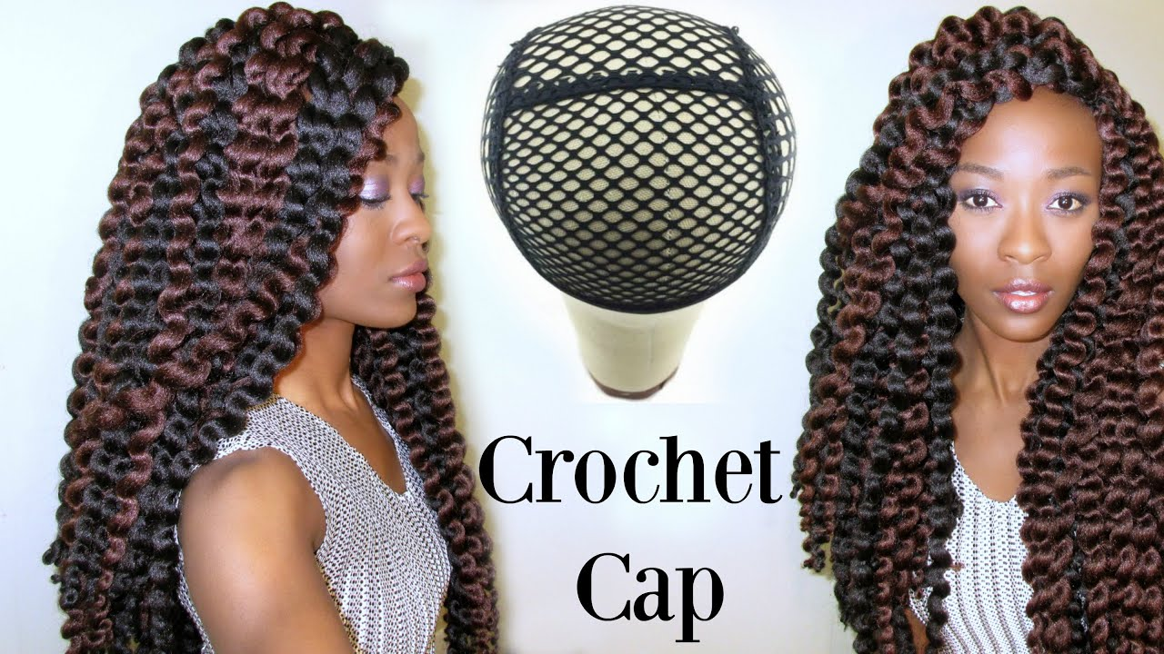 Crochet Hair Cap : The Best Crochet Braid Wig Cap: Freetress Cuban Twist Natural Jumbo ...
