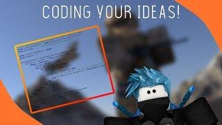 Codierung Ihrer Ideen! Roblox