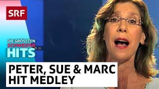 Peter, Sue & Marc: Hit Medley | Die grössten Schweizer Hits | SRF Musik