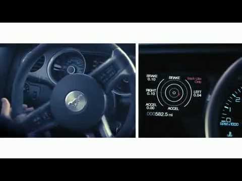 Ford Mustang Track Apps - Accelerometer, Measure G-Force