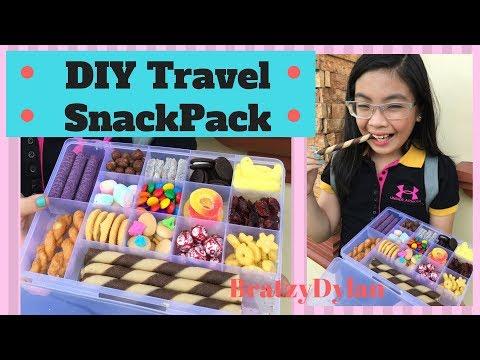 DIY Travel Snack Pack! -bratzy dylan