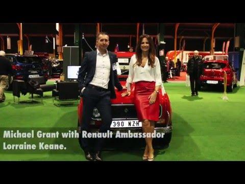Michael Grant Renault At AXA Classic Car Show