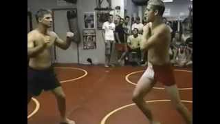 "Nathan Diaz (1st fight) vs Robert Limon  2002 ""NoGloves"""