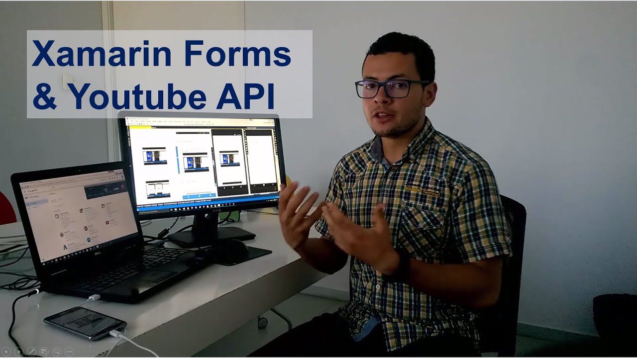 Using Youtube API in Xamarin Forms