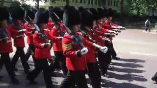 The Regimental Band of the Coldstream Guards - Changing of the guards