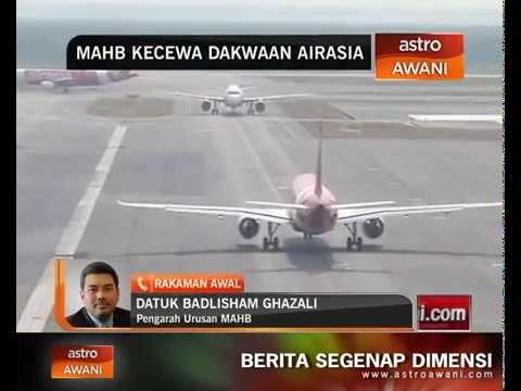MAHB kecewa dakwaan AirAsia