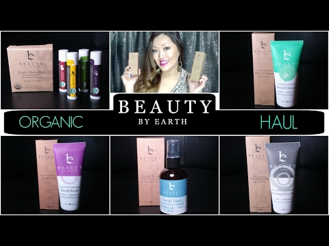 Organic Skincare HAUL | Beauty By Earth