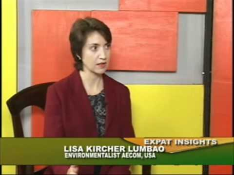 Pasig River Cleanup on Expat Insights with Raju Mandhyan ExIn070311:Ms. Lisa Kircher Lumbao