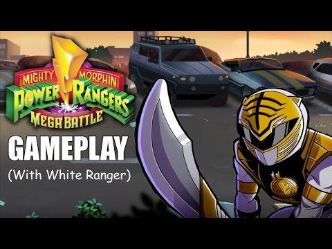 Mighty Morphin Power Rangers Mega Battle Gameplay (With White Ranger)
