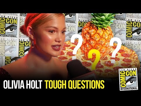 Olivia Holt Answers the TOUGHEST Questions at Comic Con 2018