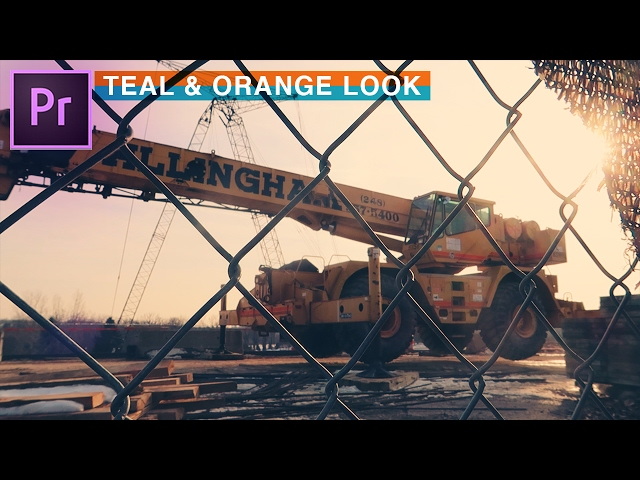 How to Achieve TEAL and ORANGE Cinematic Film Look (Adobe Premiere Pro CC Color Grading Tutorial)