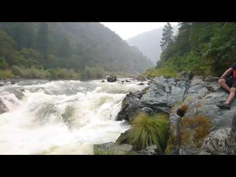 Rainy Falls Shot