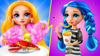 Rich Student vs Broke Student / 11 Barbie Hacks and Crafts