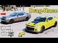 GTA 5 REAL LIFE MOD #59 - Taking The Dodge Challenger SRT Demon To The Drag Race