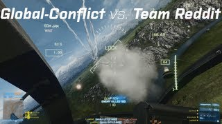 Team Reddit vs Global Conflict, Little-Bird and Jets (Battlefield 3 Competitive)