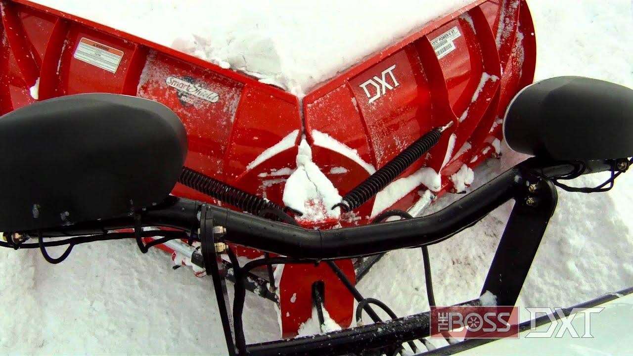 Boss Snow Plows 1977 Kawasaki Kz1000 Wiring Diagram Power V Dxt Snowplow Youtube