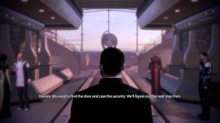 Mass Effect 2 Vanguard Gameplay - Kasumi, Stolen Memories DLC Part 1, The Heist
