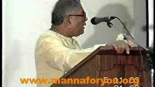 Malayalam Christian Message by Thiruvattar  Krishnankutty on help at Midnight