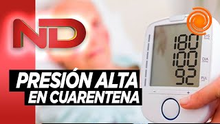 Detectan picos de presión arterial en hipertensos en cuarentena