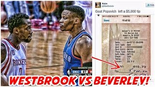 Russell Westbrook vs Patrick Beverley | Did Gregg Popovich Really do This?!
