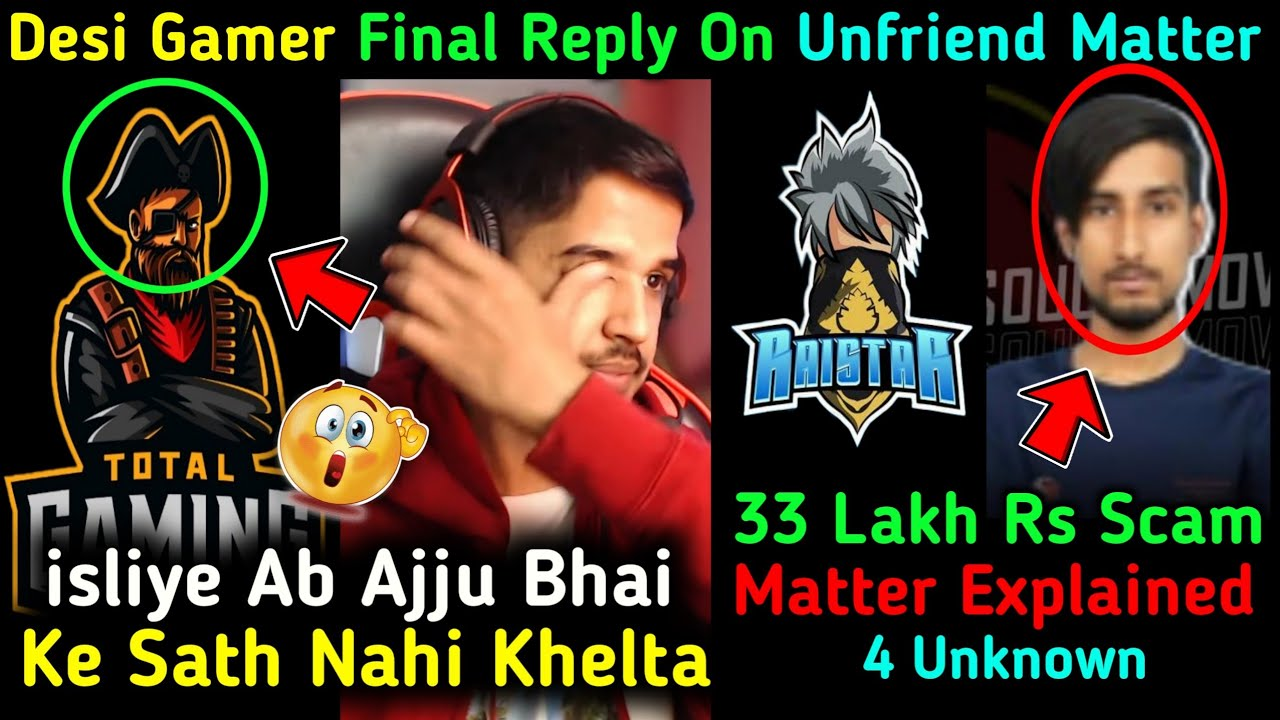 4Unknown 33 Lakh Rs SCAM By 4Un Deadsoul 😱 Amitbhai Very ANGRY On Ajjubhai?😳 Raistar Live Reply