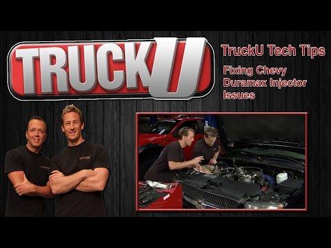 Fixing An Injector Problem In A Chevy Duramax Diesel TruckU Tech Tips