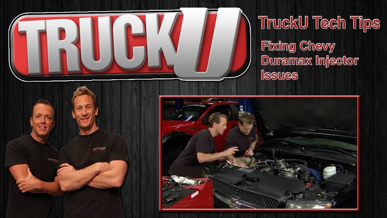 Fixing an Injector Problem in a Chevy Duramax Diesel | TruckU Tech Tips