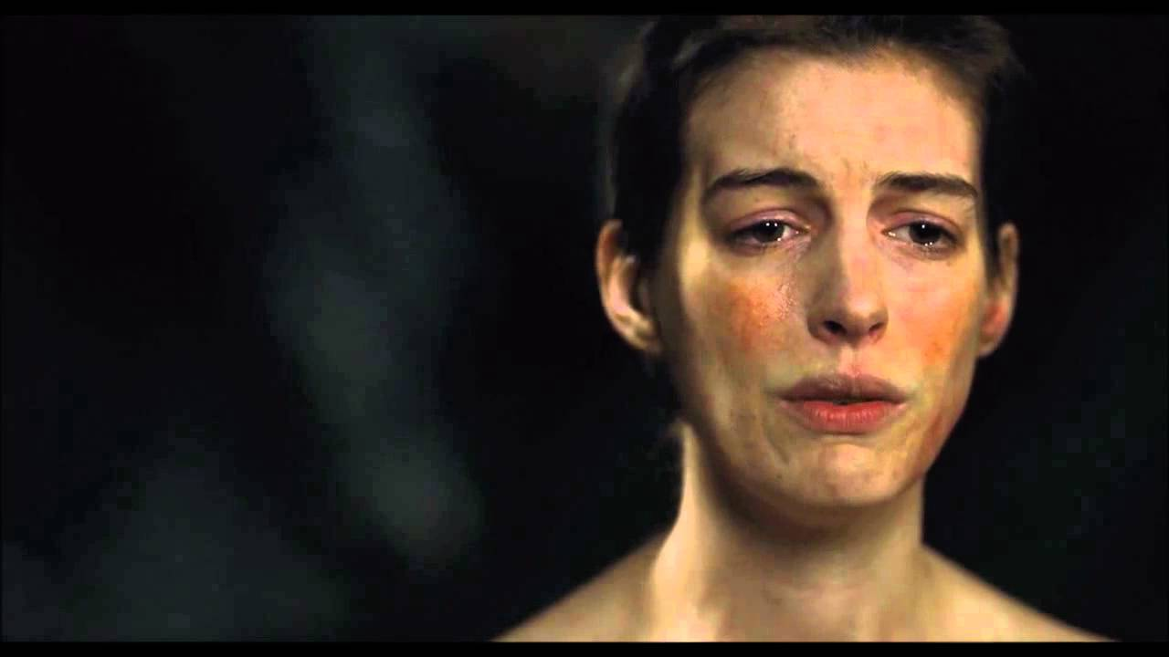 I Dreamed A Dream Hd Anne Hathaway Les Miserables Youtube
