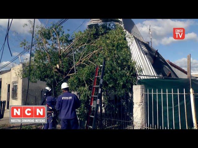CINCO TV - Municipio, Provincia y Nación asisten a familias de Las Tunas afectadas por el temporal