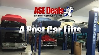 BendPak HD9 4 Post Car Lift ASEDeals Video