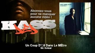 Mc Solaar - Un Coup D