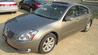 2004 NISSAN MAXIMA 3.5L V6 Walk Around Tour And Review