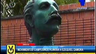 En Cojedes se conmemoran 154 años de la muerte de Ezequiel Zamora