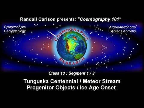 Tunguska / Taurid Meteor Stream / Comet Symbolism Cosmography101-13.1 W/ Randall Carlson (2008)