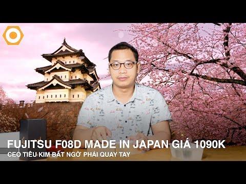 Fujitsu F-08D made in Japan giá 1.090K chống nước: CEO Kim bất ngờ phải quay tay.