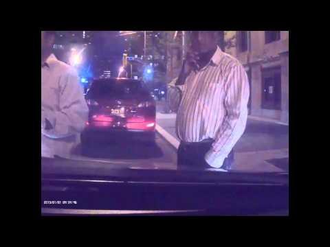 Toronto taxis harrasing uber driver