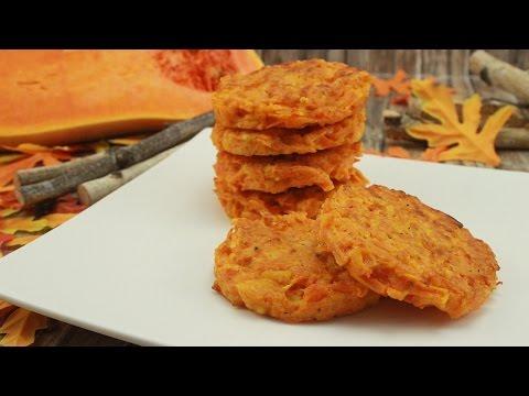 Pumpkin Patties / würzige Kürbis Puffer