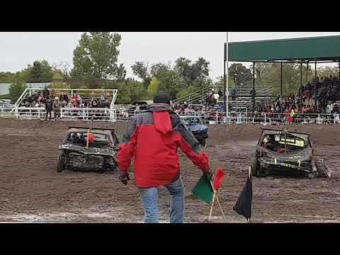 Kimball Ne Demo Derby Double Feature Limited Weld 2017