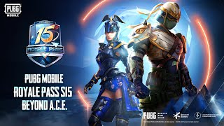 Full Max Royal Pass Season 15 🔥 - PUBG Mobile