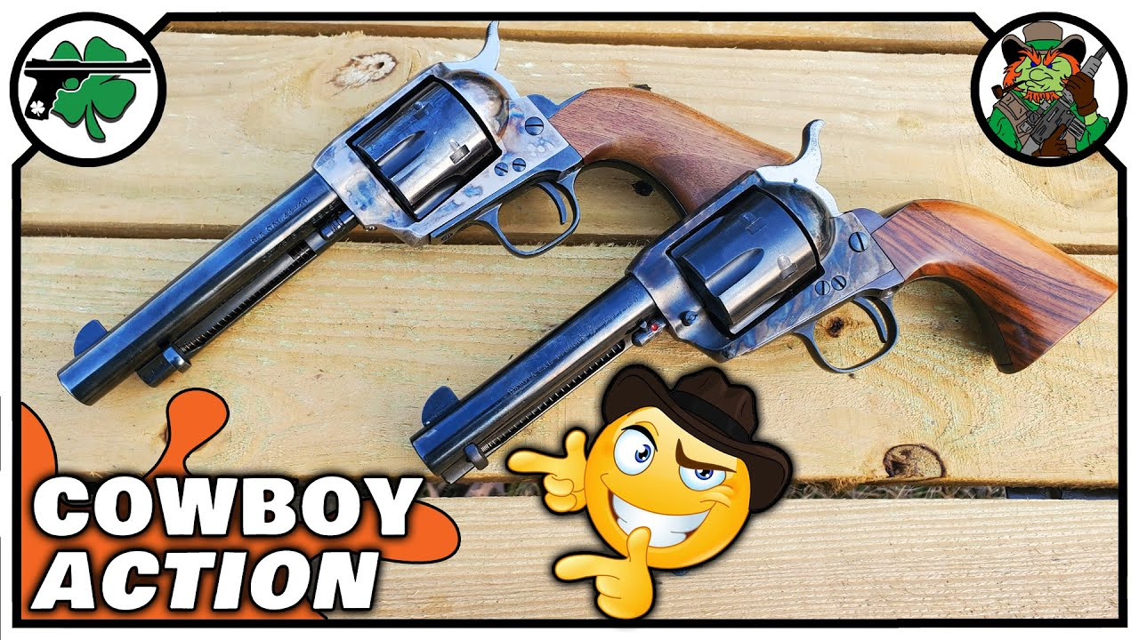 Uberti Cattleman -vs- Armi Jager Dakota | 44-40 -vs- 45 Colt | Single Action Revolvers