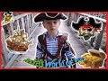 Pretending games. Pirate adventure. Treasure chest! World of fun!