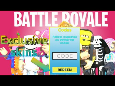 codes for battle royale simulator roblox 2019