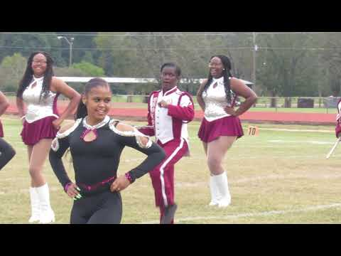 Okolona High School Marching Band | Field Show | At Selma's Battle Of Bands Competition | 2018 |
