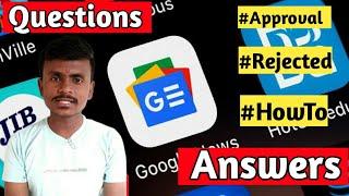 Google News Approval ,Blogger Amp ,Blogger Themes