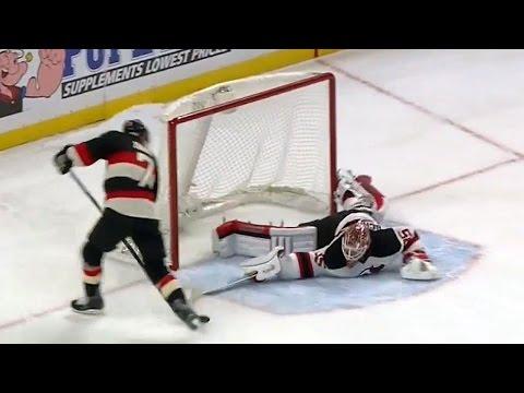 Crawford robs Jagr with stellar glove save