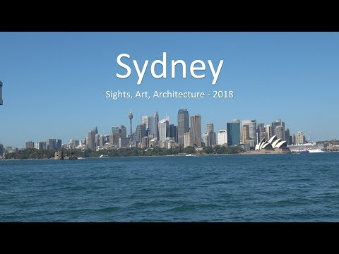 Sydney - Sights, Art and Architecture