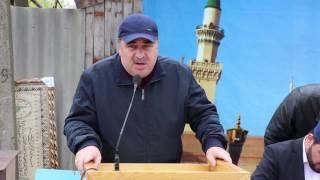 Торжественное открытие улицы имени Мухаммада Хидирова