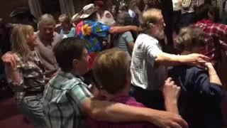Sutton Coldfield Tuneless Choir dancing the 'Gay Gordon'