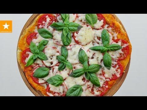Пицца на тонком тесте. Быстрый рецепт без дрожжей и яиц от Мармеладной Лисицы