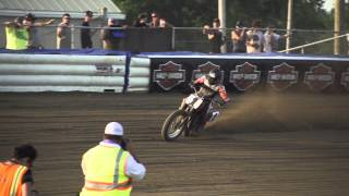 AMA Pro Flat Track star Brad Baker gives his take on the 2015 X Games Harley-Davidson Flat Track